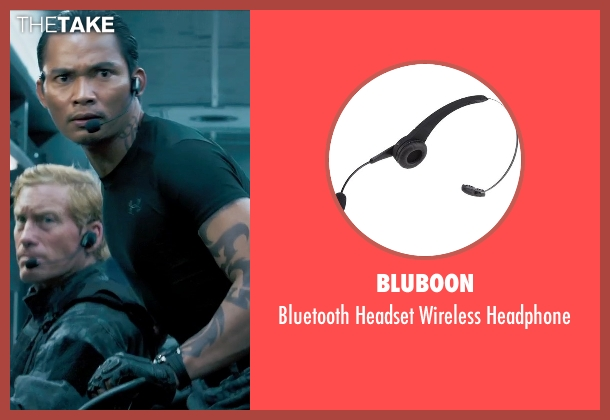Bluboon headphone from Furious 7 seen with Tony Jaa (Louie Tran)