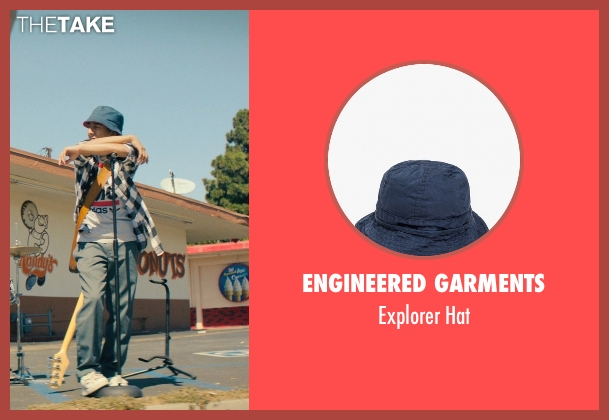 Engineered Garments blue hat from Dope seen with Tony Revolori (Jib)