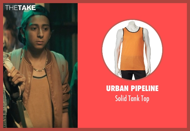 Urban Pipeline orange top from Dope seen with Tony Revolori (Jib)