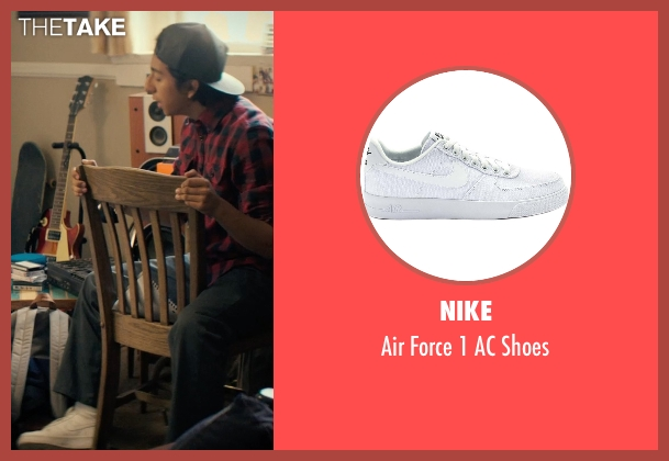 Nike white shoes from Dope seen with Tony Revolori (Jib)