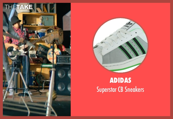 Adidas white sneakers from Dope seen with Tony Revolori (Jib)
