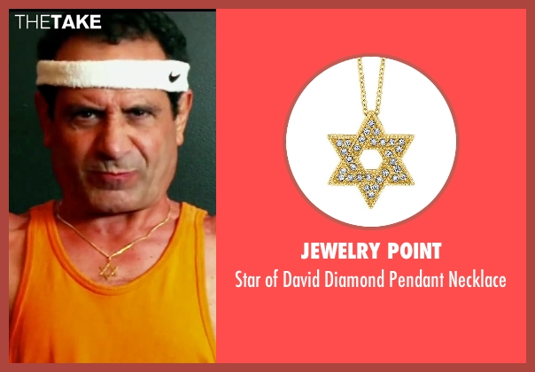 Jewelry Point necklace from Pain & Gain seen with Tony Shalhoub (Victor Kershaw)