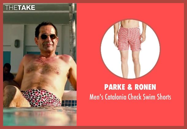Parke & Ronen shorts from Pain & Gain seen with Tony Shalhoub (Victor Kershaw)