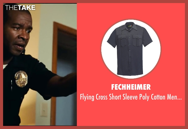 Fechheimer shirt from Taken 3 seen with Tony Williams (Cop #2 - Crime Scene)