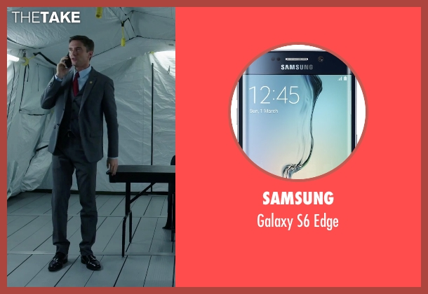 Samsung edge from American Ultra seen with Topher Grace (Adrian Yates)
