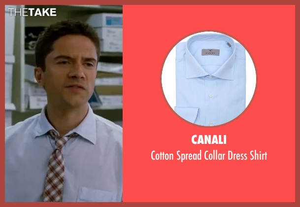Canali blue shirt from Valentine's Day seen with Topher Grace (Jason)