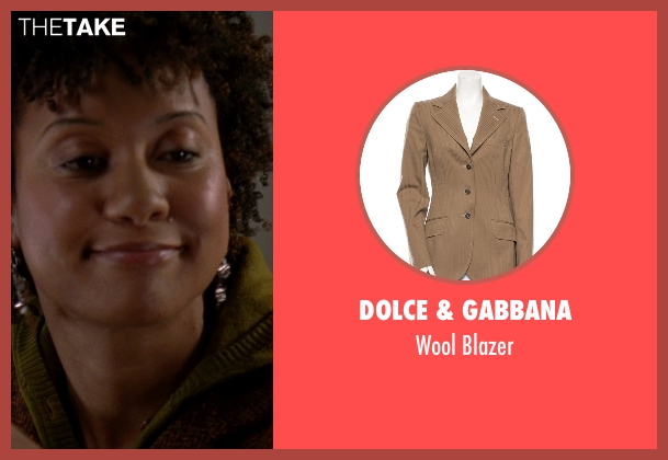 Dolce & Gabbana brown blazer from The Devil Wears Prada seen with Tracie Thoms (Lily)