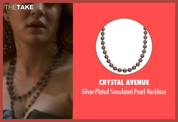 Crystal Avenue brown necklace from Crazy, Stupid, Love. seen with Tracy Mulholland (Megan)