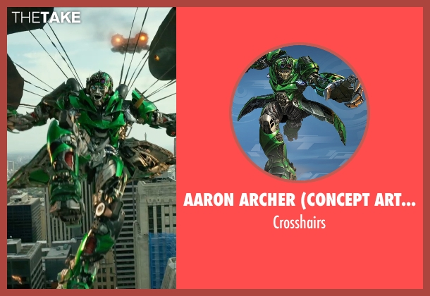 Aaron Archer (Concept Artist) crosshairs from Transformers: Age of Extinction