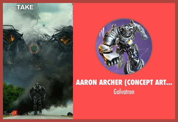 Aaron Archer (Concept Artist) galvatron from Transformers: Age of Extinction