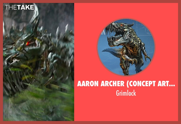 Aaron Archer (Concept Artist) grimlock from Transformers: Age of Extinction
