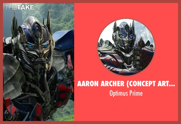 Aaron Archer (Concept Artist) prime from Transformers: Age of Extinction