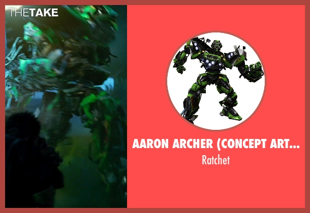 Aaron Archer (Concept Artist) ratchet from Transformers: Age of Extinction