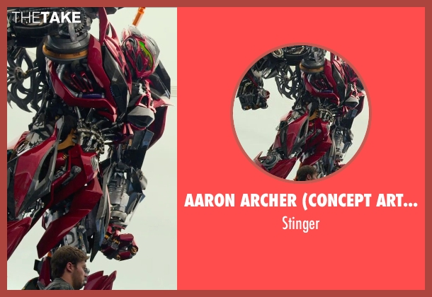 Aaron Archer (Concept Artist) stinger from Transformers: Age of Extinction