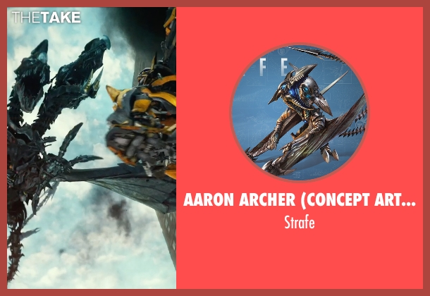 Aaron Archer (Concept Artist) strafe from Transformers: Age of Extinction