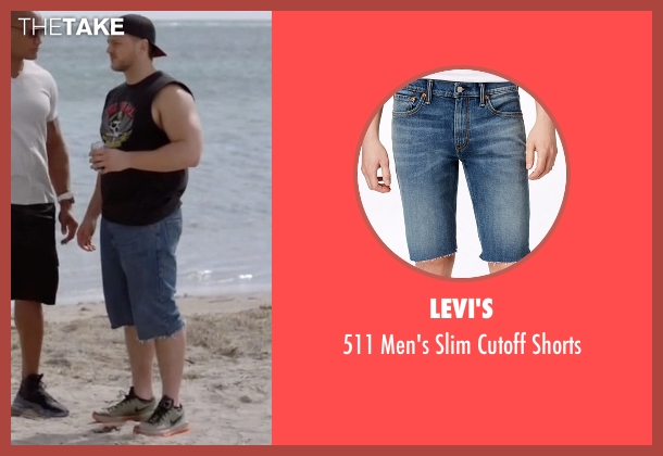 Levi's shorts from Ballers seen with Travis Mach (Adam Aalderks)