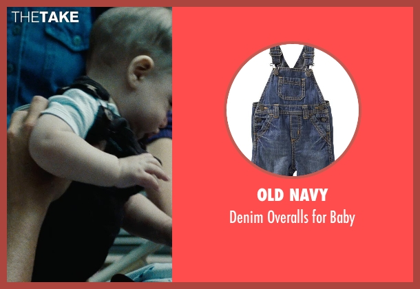 Old Navy blue baby from The Place Beyond The Pines seen with Trevor Jackson Campbell (Baby AJ)