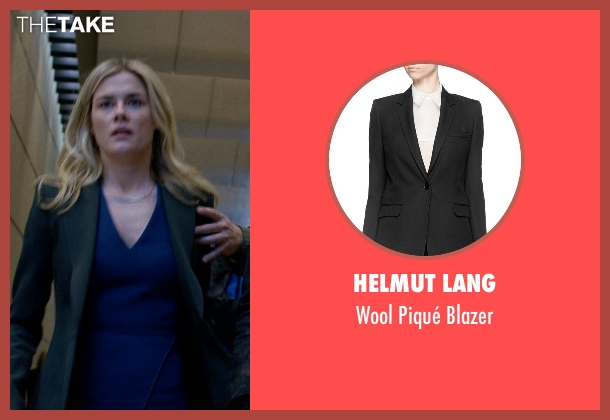 Helmut Lang black blazer from Jessica Jones seen with Trish Walker (Rachael Taylor)