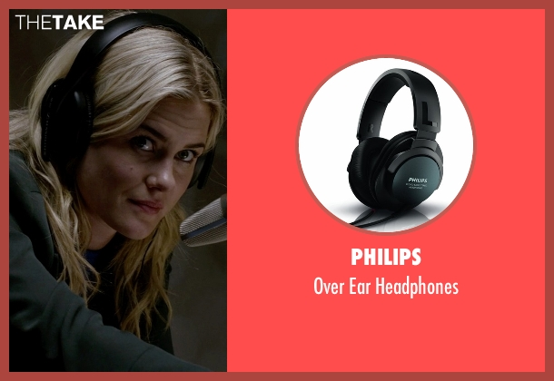 Philips black headphones from Jessica Jones seen with Trish Walker (Rachael Taylor)