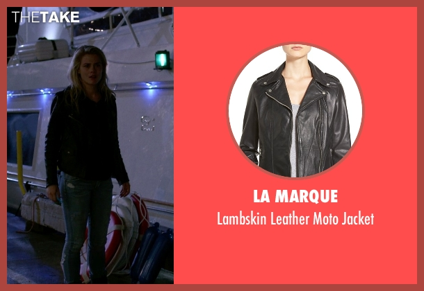 La Marque black jacket from Jessica Jones seen with Trish Walker (Rachael Taylor)
