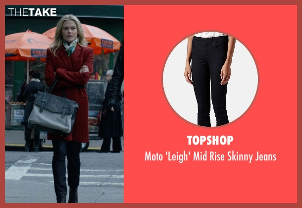Topshop black jeans from Jessica Jones seen with Trish Walker (Rachael Taylor)
