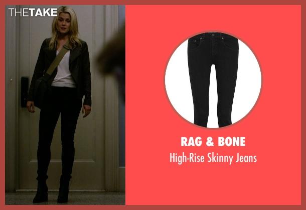 Rag & Bone black jeans from Jessica Jones seen with Trish Walker (Rachael Taylor)