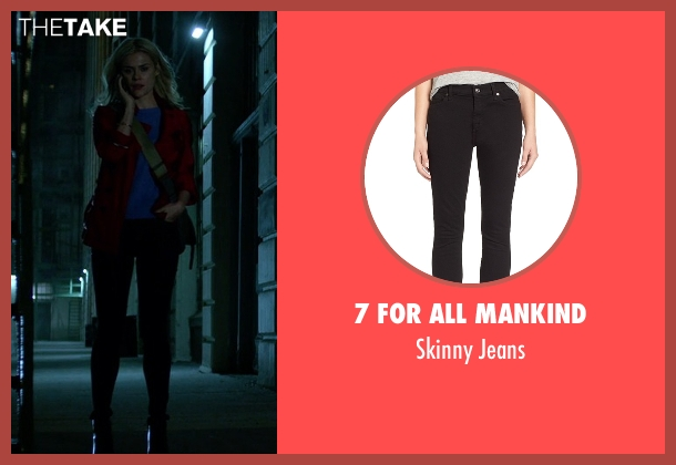 7 For All Mankind black jeans from Jessica Jones seen with Trish Walker (Rachael Taylor)