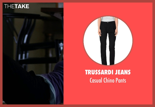 Trussardi Jeans black pants from Jessica Jones seen with Trish Walker (Rachael Taylor)