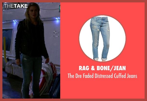 Rag & Bone/JEAN blue jeans from Jessica Jones seen with Trish Walker (Rachael Taylor)
