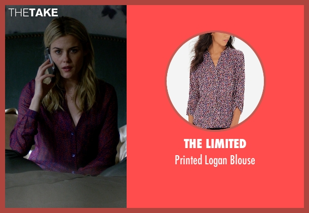 The Limited purple blouse from Jessica Jones seen with Trish Walker (Rachael Taylor)