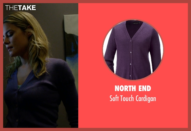 North End purple cardigan from Jessica Jones seen with Trish Walker (Rachael Taylor)