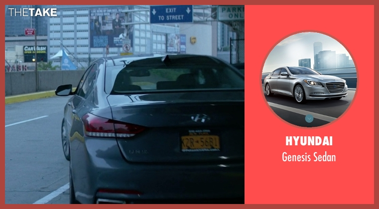 Hyundai sedan from Jessica Jones seen with Trish Walker (Rachael Taylor)