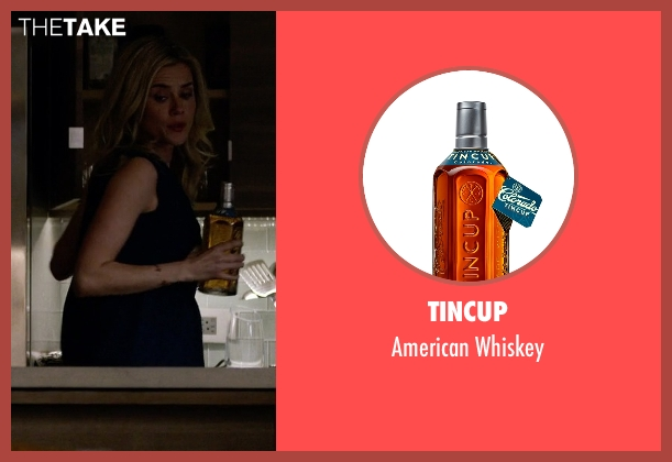 Tincup whiskey from Jessica Jones seen with Trish Walker (Rachael Taylor)