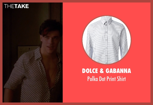 Dolce & Gabanna white shirt from American Horror Story seen with Tristan Duffy (Finn Wittrock)