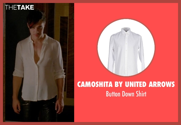 Camoshita by United Arrows white shirt from American Horror Story seen with Tristan Duffy (Finn Wittrock)