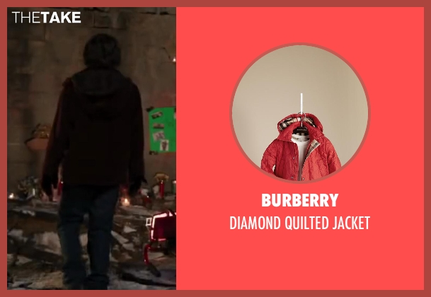 Burberry jacket from Iron Man 3 seen with Ty Simpkins (Harley)