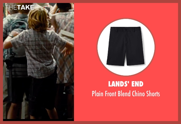 Volcom black shorts from Jurassic World seen with Ty Simpkins (Gray)