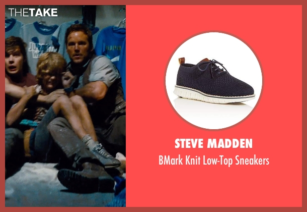 Nike SB Kids blue sneakers from Jurassic World seen with Ty Simpkins (Gray)