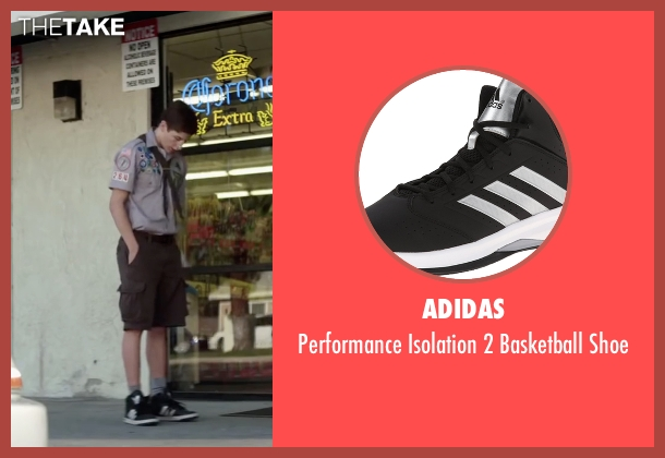 Adidas black shoe from Scout's Guide to the Zombie Apocalypse seen with Tye Sheridan (Ben)