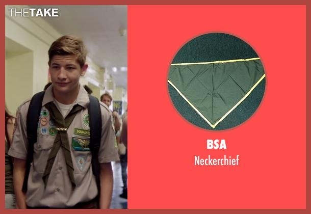 BSA neckerchief from Scout's Guide to the Zombie Apocalypse seen with Tye Sheridan (Ben)