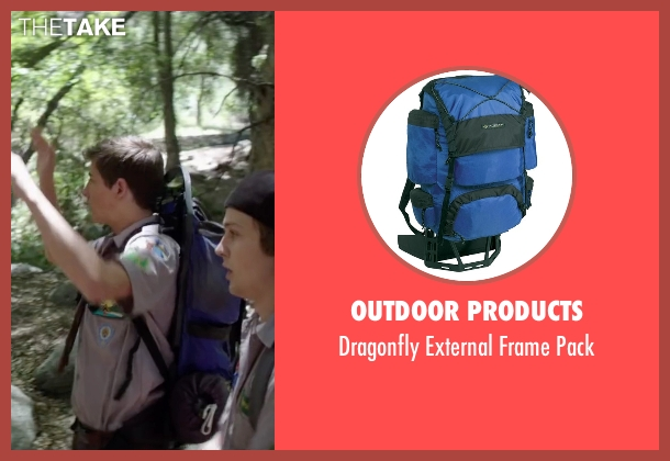 Outdoor Products pack from Scout's Guide to the Zombie Apocalypse seen with Tye Sheridan (Ben)