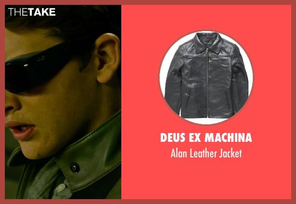 Deus Ex Machina gray jacket from X-Men: Apocalypse seen with Tye Sheridan (Scott Summers / Cyclops)