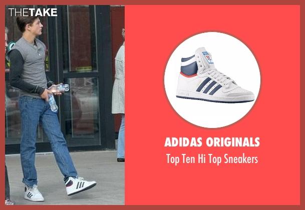 Adidas Originals sneakers from X-Men: Apocalypse seen with Tye Sheridan (Scott Summers / Cyclops)