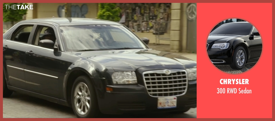 Chrysler sedan from Barbershop: The Next Cut seen with Tyga (Yummy)