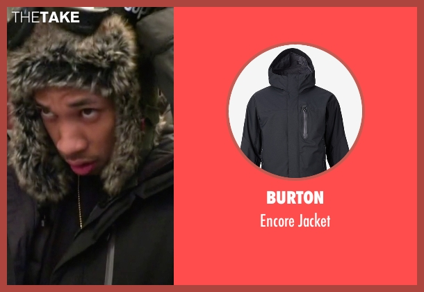 Burton  black jacket from Keeping Up With The Kardashians seen with Tyga