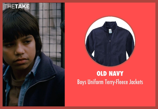 Old Navy blue jackets from The Dark Knight Rises seen with Tyler Dean Flores (Mark)