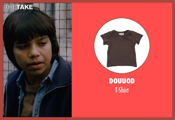 Douuod brown t-shirt from The Dark Knight Rises seen with Tyler Dean Flores (Mark)