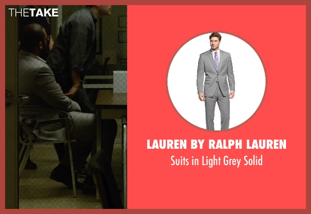 Lauren by Ralph Lauren gray solid from Gone Girl seen with Tyler Perry (Tanner Bolt)
