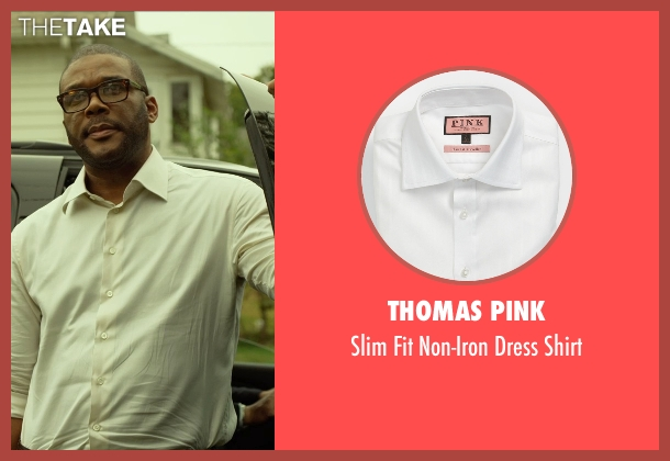 Thomas Pink white shirt from Gone Girl seen with Tyler Perry (Tanner Bolt)