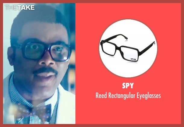 Spy black eyeglasses from Teenage Mutant Ninja Turtles: Out of the Shadows seen with Tyler Perry (Baxter Stockman)